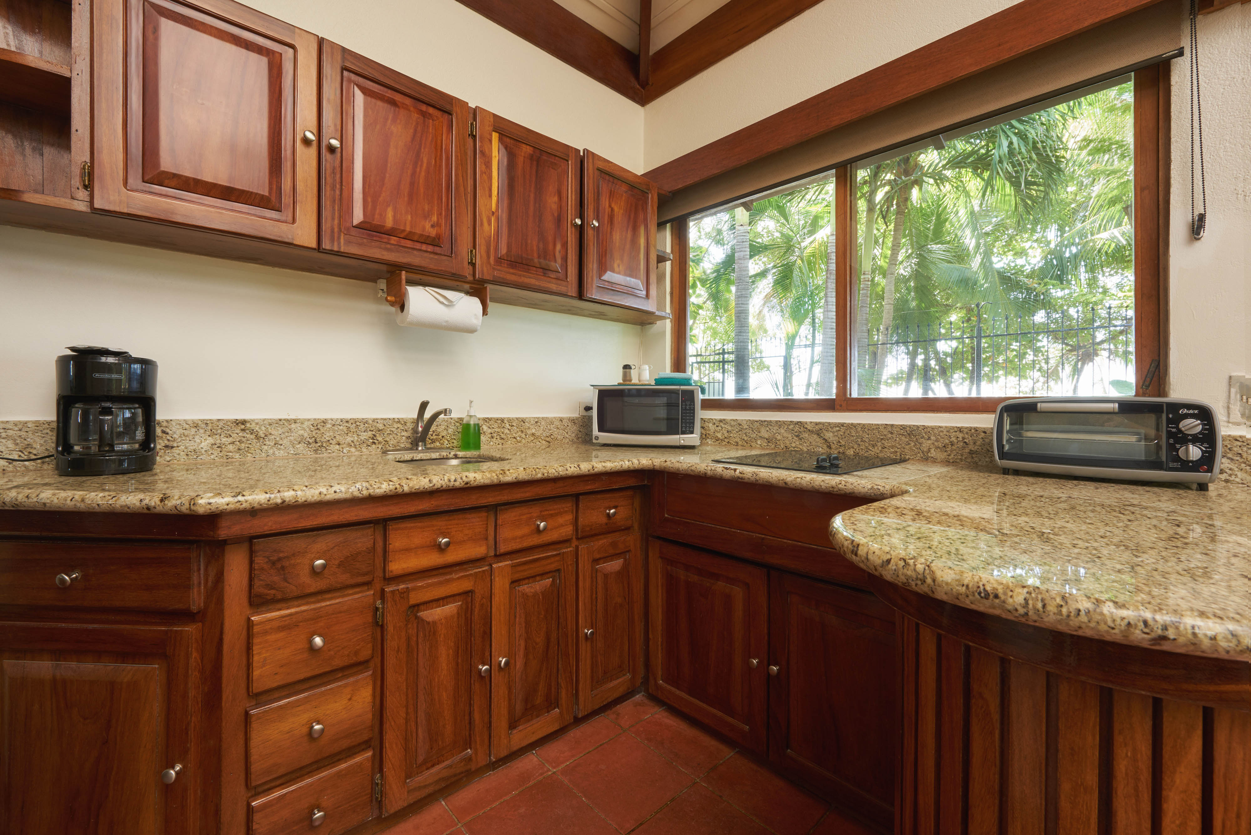 Kitchen in the BeachFront Bungalows